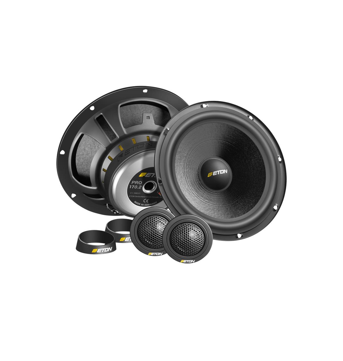 eton pro 175 2 way component system audiostatus
